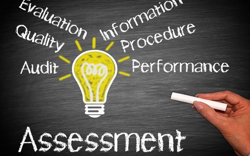 Best Assessment - Writing Keywords On Chalkboard