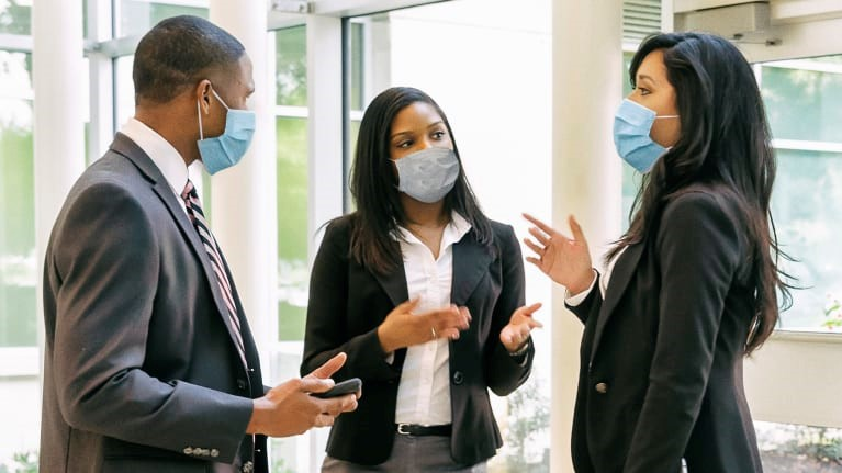 Masks On? What Employers Need to Know About Face Coverings at Work