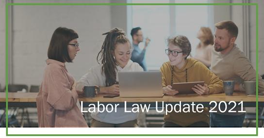 2021 Labor Law Update Webinar